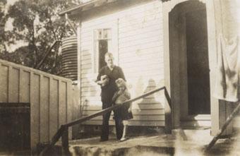 Bert and Fay Biddulph in 1948