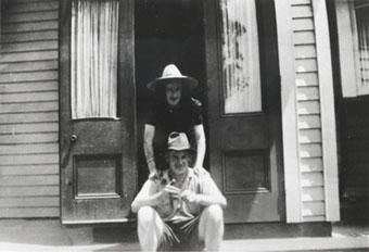 Bert and Sadie Biddulph in 1950