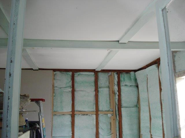 Bach 78 - new insulation in the walls